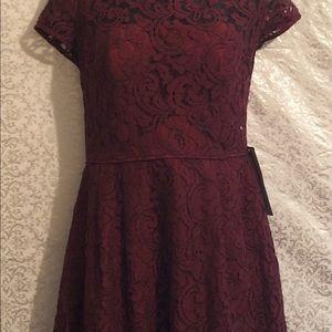 J. Crew Dresses - NWT J Crew fit and flare Alisa leavers lace dress